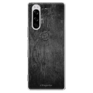Plastové pouzdro iSaprio - Black Wood 13 na mobil Sony Xperia 5