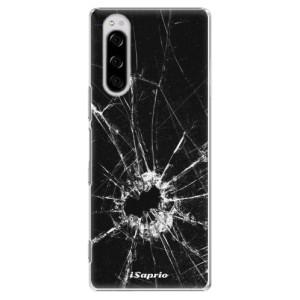 Plastové pouzdro iSaprio - Broken Glass 10 na mobil Sony Xperia 5