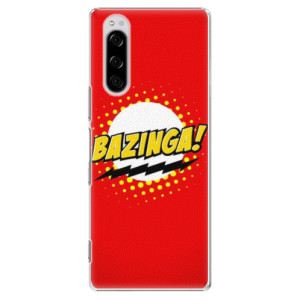 Plastové pouzdro iSaprio - Bazinga 01 na mobil Sony Xperia 5