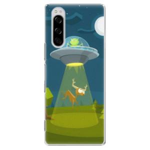 Plastové pouzdro iSaprio - Alien 01 na mobil Sony Xperia 5