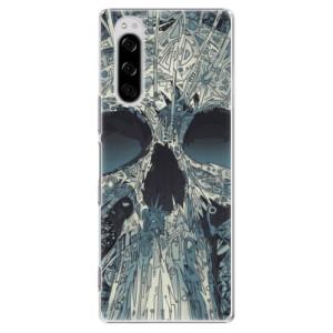 Plastové pouzdro iSaprio - Abstract Skull na mobil Sony Xperia 5