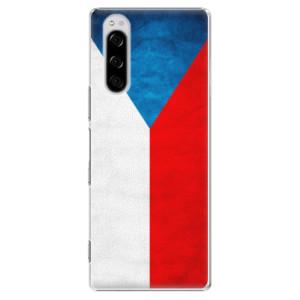 Plastové pouzdro iSaprio - Czech Flag na mobil Sony Xperia 5