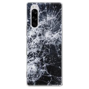 Plastové pouzdro iSaprio - Cracked na mobil Sony Xperia 5