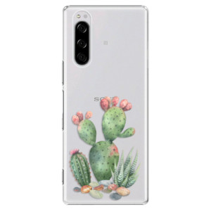 Plastové pouzdro iSaprio - Cacti 01 na mobil Sony Xperia 5