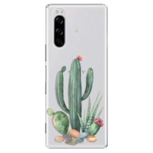 Plastové pouzdro iSaprio - Cacti 02 na mobil Sony Xperia 5