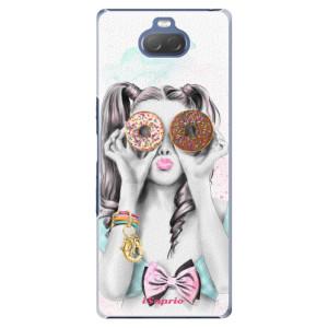 Plastové pouzdro iSaprio - Donuts 10 na mobil Sony Xperia 10