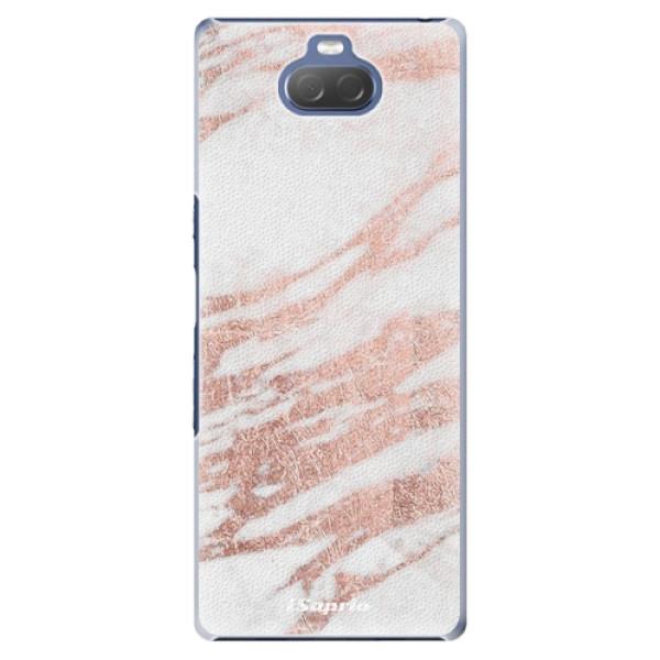 Plastové pouzdro iSaprio - RoseGold 10 - Sony Xperia 10