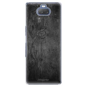 Plastové pouzdro iSaprio - Black Wood 13 na mobil Sony Xperia 10