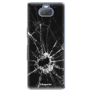 Plastové pouzdro iSaprio - Broken Glass 10 na mobil Sony Xperia 10