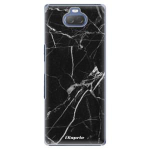 Plastové pouzdro iSaprio - Black Marble 18 na mobil Sony Xperia 10