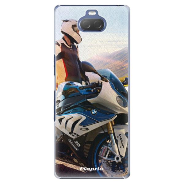 Plastové pouzdro iSaprio - Motorcycle 10 - Sony Xperia 10