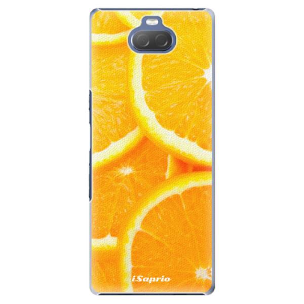 Plastové pouzdro iSaprio - Orange 10 - Sony Xperia 10