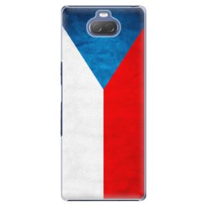 Plastové pouzdro iSaprio - Czech Flag na mobil Sony Xperia 10