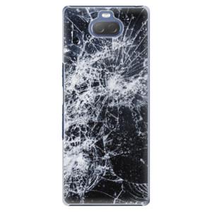 Plastové pouzdro iSaprio - Cracked na mobil Sony Xperia 10