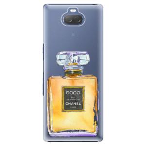 Plastové pouzdro iSaprio - Chanel Gold na mobil Sony Xperia 10