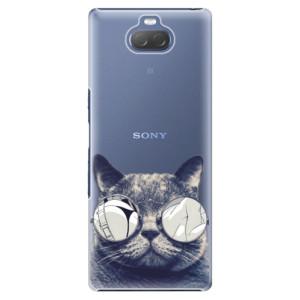 Plastové pouzdro iSaprio - Crazy Cat 01 na mobil Sony Xperia 10