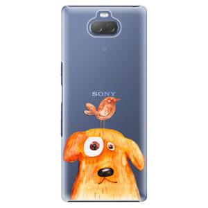 Plastové pouzdro iSaprio - Dog And Bird na mobil Sony Xperia 10