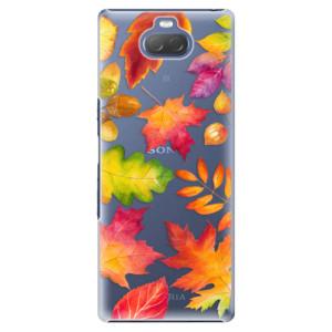 Plastové pouzdro iSaprio - Autumn Leaves 01 na mobil Sony Xperia 10