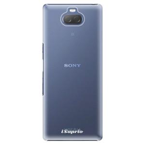 Plastové pouzdro iSaprio - 4Pure - mléčné bez potisku na mobil Sony Xperia 10