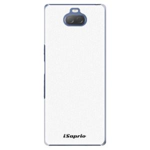 Plastové pouzdro iSaprio - 4Pure - bílé na mobil Sony Xperia 10