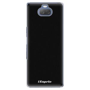 Plastové pouzdro iSaprio - 4Pure - černé na mobil Sony Xperia 10
