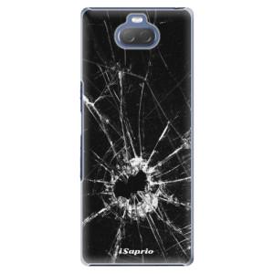 Plastové pouzdro iSaprio - Broken Glass 10 na mobil Sony Xperia 10 Plus