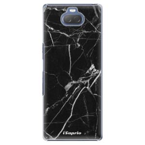 Plastové pouzdro iSaprio - Black Marble 18 na mobil Sony Xperia 10 Plus
