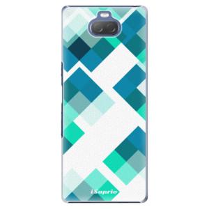Plastové pouzdro iSaprio - Abstract Squares 11 na mobil Sony Xperia 10 Plus