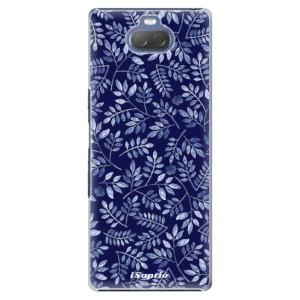 Plastové pouzdro iSaprio - Blue Leaves 05 na mobil Sony Xperia 10 Plus