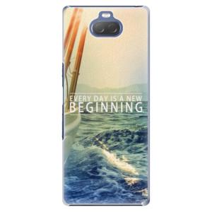 Plastové pouzdro iSaprio - Beginning na mobil Sony Xperia 10 Plus