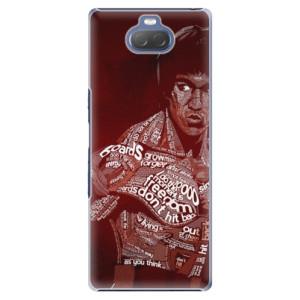 Plastové pouzdro iSaprio - Bruce Lee na mobil Sony Xperia 10 Plus