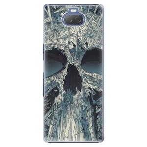 Plastové pouzdro iSaprio - Abstract Skull na mobil Sony Xperia 10 Plus