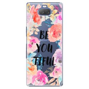 Plastové pouzdro iSaprio - BeYouTiful na mobil Sony Xperia 10 Plus