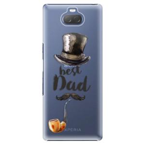 Plastové pouzdro iSaprio - Best Dad na mobil Sony Xperia 10 Plus