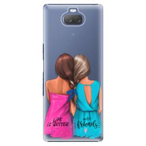 Plastové pouzdro iSaprio - Best Friends na mobil Sony Xperia 10 Plus
