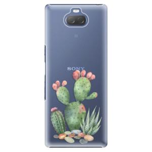 Plastové pouzdro iSaprio - Cacti 01 na mobil Sony Xperia 10 Plus