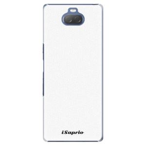 Plastové pouzdro iSaprio - 4Pure - bílé na mobil Sony Xperia 10 Plus