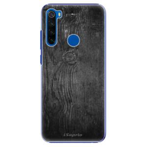 Plastové pouzdro iSaprio - Black Wood 13 na mobil Xiaomi Redmi Note 8T