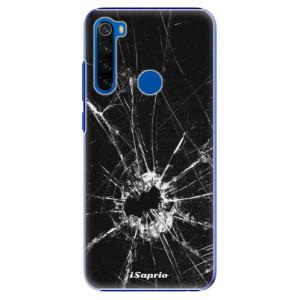 Plastové pouzdro iSaprio - Broken Glass 10 na mobil Xiaomi Redmi Note 8T