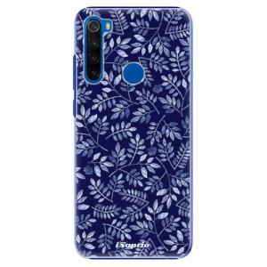 Plastové pouzdro iSaprio - Blue Leaves 05 na mobil Xiaomi Redmi Note 8T