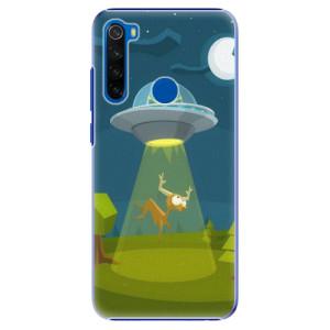 Plastové pouzdro iSaprio - Alien 01 na mobil Xiaomi Redmi Note 8T