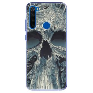 Plastové pouzdro iSaprio - Abstract Skull na mobil Xiaomi Redmi Note 8T