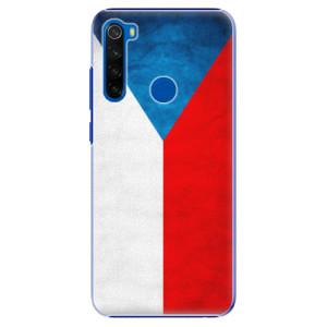 Plastové pouzdro iSaprio - Czech Flag na mobil Xiaomi Redmi Note 8T