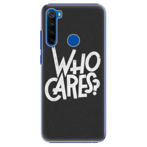 Plastové pouzdro iSaprio - Who Cares na mobil Xiaomi Redmi Note 8T