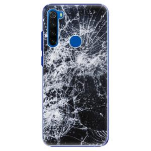 Plastové pouzdro iSaprio - Cracked na mobil Xiaomi Redmi Note 8T
