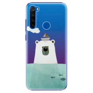 Plastové pouzdro iSaprio - Bear With Boat na mobil Xiaomi Redmi Note 8T