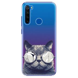 Plastové pouzdro iSaprio - Crazy Cat 01 na mobil Xiaomi Redmi Note 8T