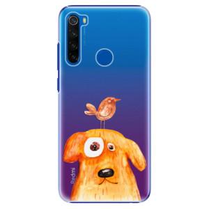 Plastové pouzdro iSaprio - Dog And Bird na mobil Xiaomi Redmi Note 8T