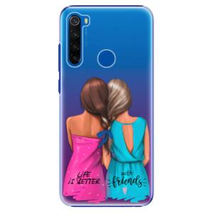 Plastové pouzdro iSaprio - Best Friends na mobil Xiaomi Redmi Note 8T