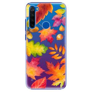 Plastové pouzdro iSaprio - Autumn Leaves 01 na mobil Xiaomi Redmi Note 8T